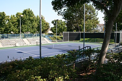 Woodbridge Tennis Club, Irvine, Orange County