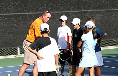 Ivan Lendl visits Woodbridge Tennis Club Junior Program