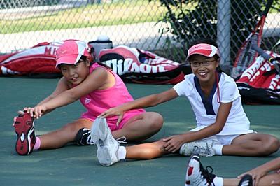 Yuki Asami and Melissa Huang